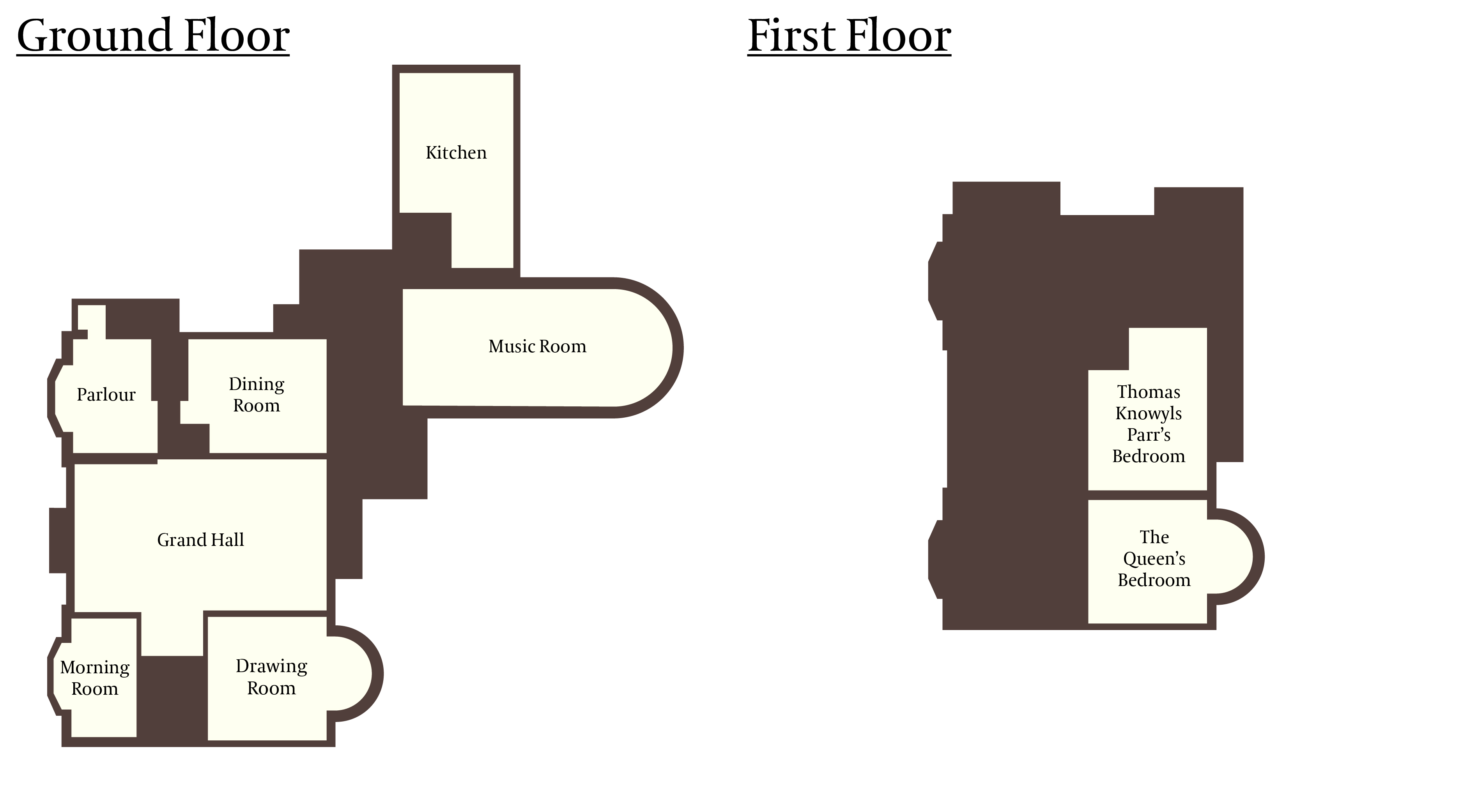 Floor plan wymering manor for Select floor plans